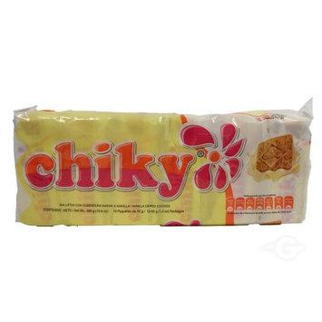 Pozuelo Chiky Vanilla Cookie 16.9 oz - Galletas de Vainilla (Pack of 16)