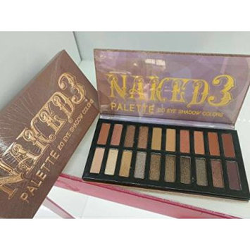 Boski Cosmetic-20 Color Fashion Eye shadow Palette Smoky Naked 3 New Version Naked3