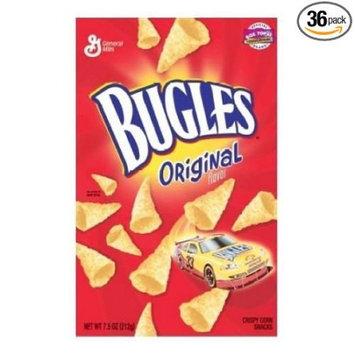 General Mills 36 PACKS: Bugles Original Chips, 1.5 Ounce.