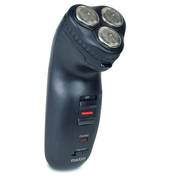 Universal Nutrition Maxim RSCX-356 3-Head Stainless Steel Rechargeable Electric Rotary Shaver Black