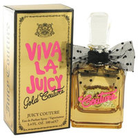 Viva La Juicy Gold Couture by Juicy Couture Eau De Parfum Spray 3.4 oz
