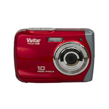 Vivitar VX426-RED 10 Mega Pixel Waterproof Digital Camera