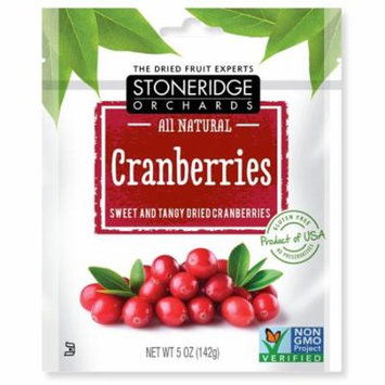 Stoneridge Orchards, Cranberries, Sweet & Tangy Dried Cranberries, 5 oz (pack of 3)