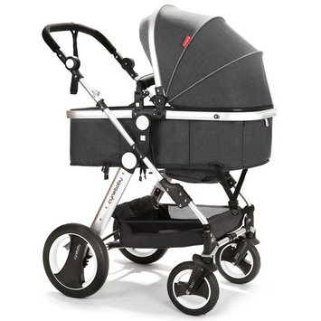 Infant Toddler Baby Stroller Carriage - Cynebaby Compact Pram Strollers add Tray