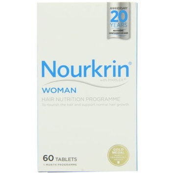 Nourkrin Extra Strength Hair Recovery Programme 60 Tablets 1 Month Supply by Nourkrin