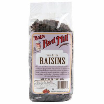 Bob's Red Mill, Sun Dried Raisins, 16 oz (pack of 1)