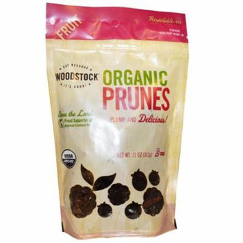 Woodstock, Organic Prunes, Pitted, 11 oz (pack of 4)