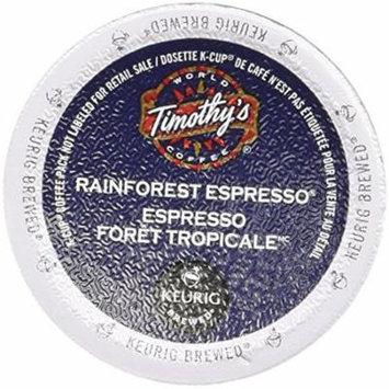 Rainforest K-Cup Espresso | Timothy's | 24 K Cups
