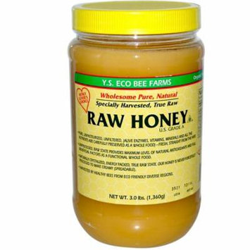 Y.S. Eco Bee Farms, Raw Honey, 3.0 lbs (pack of 2)