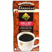Teeccino, Herbal Coffee, Medium Roast, Vanilla Nut, No Caffeine, 25 Tee-Bags, 5.3 oz (pack of 3)