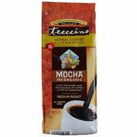Teeccino, Mocha, Medium Roast Coffee, Caffeine Free, 11 oz (pack of 1)