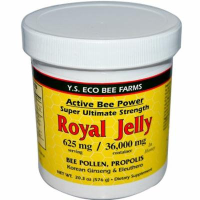 Y.S. Eco Bee Farms, Royal Jelly, 20.3 oz(pack of 4)