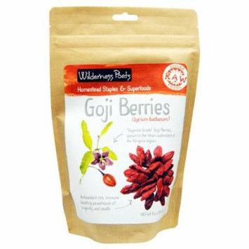 Wilderness Poets, Raw Living Foods, Goji Berries, 8 oz (pack of 6)