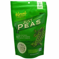 Karen's Naturals, Premium, Freeze-Dried Veggies, Just Peas, 8 oz (pack of 6)