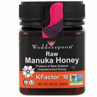 Wedderspoon, Raw Manuka Honey, KFactor 16, 8.8 oz (pack of 3)
