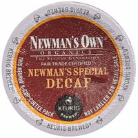 Newman's Own Organics SPECIAL BLEND DECAF 48 K-Cups for Keurig Brewers