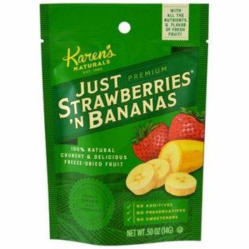 Karen's Naturals, Premium, Just Strawberries 'N Bananas, .50 oz (pack of 2)