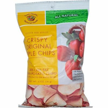 Good Health Natural Foods, Apple Chips, Original, 2.5 oz(pack of 12)