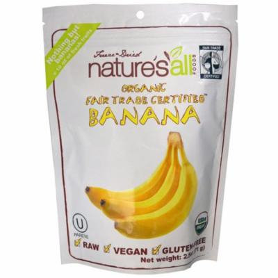Natierra Nature's All , Organic Banana, 2.5 oz(pack of 4)