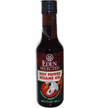 Eden Foods, Selected, Hot Pepper Sesame Oil, 5 fl oz (pack of 2)