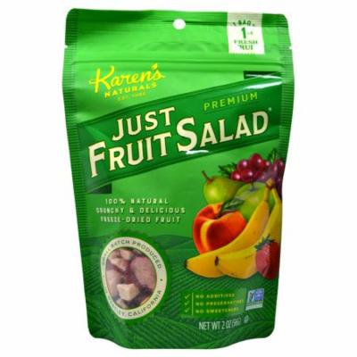 Karen's Naturals, Just Fruit Salad, Premium, 2 oz(pack of 2)
