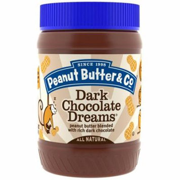 Peanut Butter & Co., Dark Chocolate Dreams, Peanut Butter Blended with Rich Dark Chocolate, , 16 oz (pack of 2)