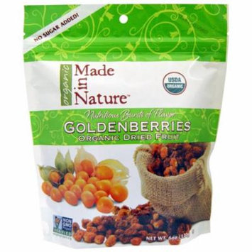 Made in Nature, Organic Goldenberries Tart and Tangy Supersnack, 6 oz (pack of 6)
