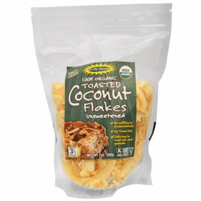 Edward & Sons, 100% Organic, Toasted Coconut Flakes Unsweetened, 7 oz (pack of 2)