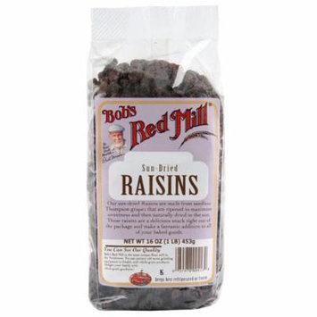 Bob's Red Mill, Sun Dried Raisins, 16 oz (pack of 12)