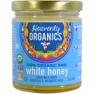 Heavenly Organics, 100% Organic Raw White Honey, 12 oz (pack of 12)