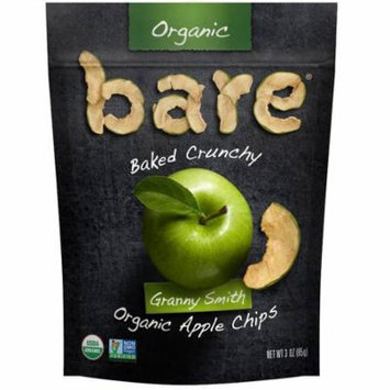 Bare Fruit, Baked Crunchy, Organic Apple Chips, Granny Smith , 3 oz (pack of 2)