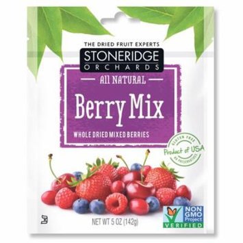Stoneridge Orchards, Berry Mix, Whole Dried Mixed Berries, 5 oz (pack of 12)