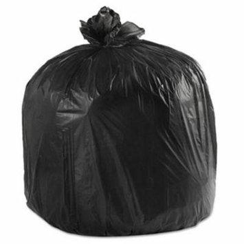 45 Gallon Black Garbage Bags, 40x46, 0.6mil, 100 Bags (BWK4046H)