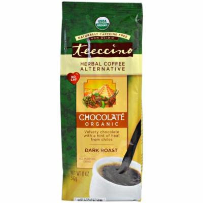 Teeccino, Organic Herbal Coffee Alternative, Dark Roast, Caffeine Free, Chocolate, 11 oz (pack of 2)