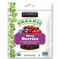 Stoneridge Orchards, Organic, Mixed Berries, 4 oz (pack of 1)