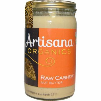 Artisana, Organic, Cashew Butter, 14 oz(pack of 1)