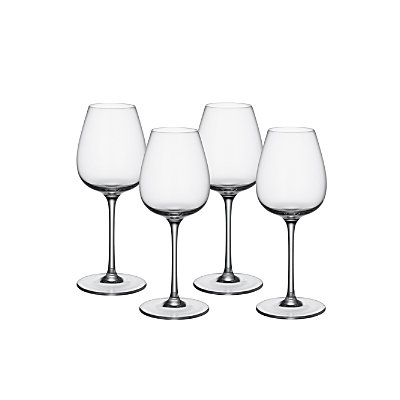 Villeroy & Boch Purismo Intricate+Delicate Red Wine Goblets, S/4