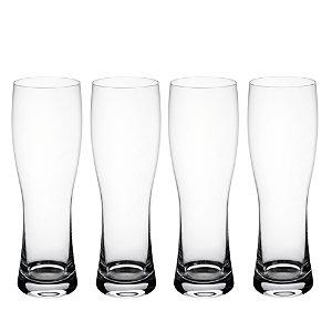Villeroy & Boch Purismo Wheat Beer Pilsner Glass, Set of 4