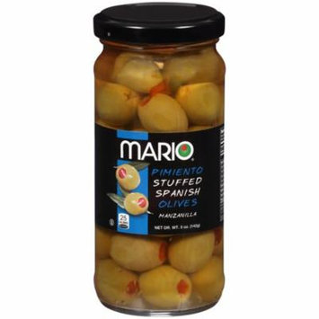 Mario® Pimiento Stuffed Spanish Manzanilla Olives 5 oz. Jar