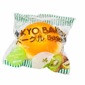 Tokyo Bakery Stuffed Bagel Squishies - Kiwi