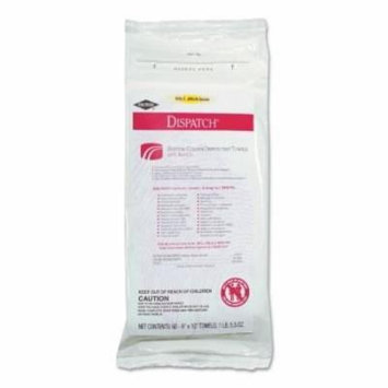 Dispatch Hospital Cleaner Disinfectant Towels With Bleach 12 Packs