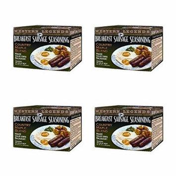 Hi Mountain's Western Legends Breakfast Sausage Seasoning (4 pack)