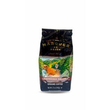 Marques de Paiva Fair Commerce Ground Coffee 12oz Bag (Espresso Roast)