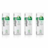 Yes To Cucumbers Sensitive Skin Soothing Eye Gel, 0.5 Oz (Pack of 4) + Beyond BodiHeat Patch, 1 Ct