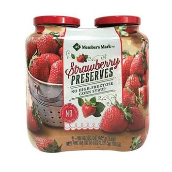Member's Mark Strawberry Preserves (32 oz., 2 ct.)
