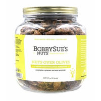 BobbySue's Nuts - Nuts Over Olives Style - All Natural Gourmet Nut Mix of Almonds, Cashews, Pecans (32 Ounce)
