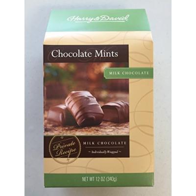 Harry & David Milk Chocolate Mints 12 oz