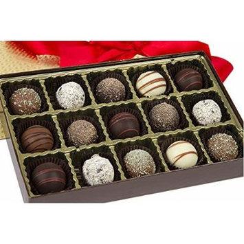 Sugar Plum Signature Tempting Truffle Box - Truffle Variety by Sugar Plum Chocolates (15 Piece)