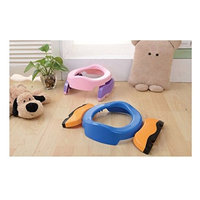 Baby 2-in-1 Foldable Travel Potty Chair Toilet Training Toilet Seat Adaptor : Baby