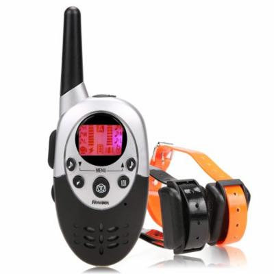 Pet Remote Training Collar With LCD Display Static Shock/ Vibration/ Sound Function HPPY